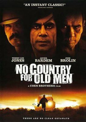 No Country for Old Men DVD NEW