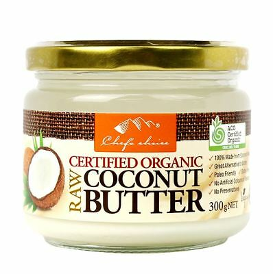 Organic Raw Coconut Butter Chef's Choice 300g