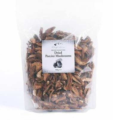 Chef's Choice Dried Porcini Mushrooms Premium Selected 500g