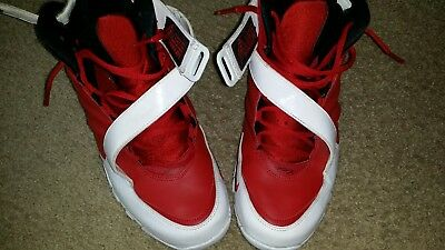 cb2c9d930cdb Nike Zoom Michael Vick III 3 Mens Red White Athletic Shoes Size 11 832698- 600