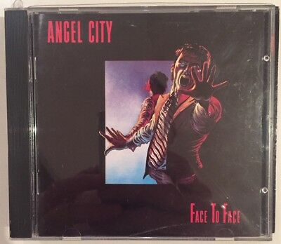 The Angels (Angel City) - Face To Face CD (US pressing) (AS NEW, No Exit)