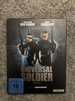 Universal Soldier Uncut Steelbook Blu Ray BluRay Limited Edition