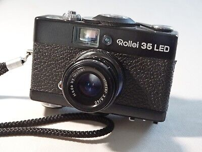 Rollei 35 LED 35mm Film Camera with Triotar 40mm F/3.5 Lens. Excellent condition