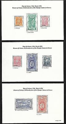 Greece 2008 Reintroduction of Olympic Games in Greece 5V S/S China