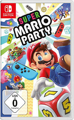 Super Mario Party - [Nintendo Switch] NEU & OVP