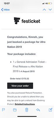 Afronation General Admissions Ticket