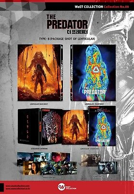 The Predator Steelbook OneClick WeET Collection Blu-ray Numbered Preorder