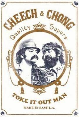 Cheech and Chong Toke It Out Art Print Poster 36x24