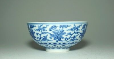A Chinese Blue and White 'Floral' Bowl