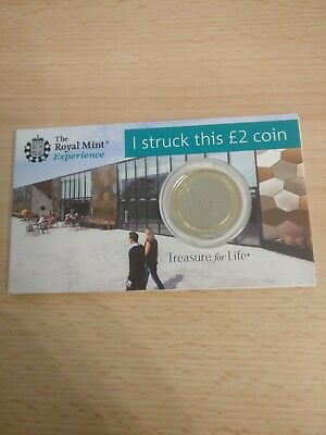 £2 Frankenstein Coin Syo Strike Your Own 2018 Royal Mint Two Pound £2