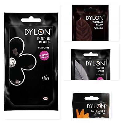 Dylon Hand Wash Dye 50g Fabric Clothes Curtains Textile Jeans 22 Colour Choices!