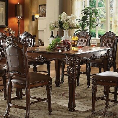 New Vendome Formal 54 Square Counter Height Dining Table In