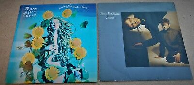 "Tears For Fears: 2 x 7"" Singles Sowing The Seeds Of Love + Change Ex/PS"