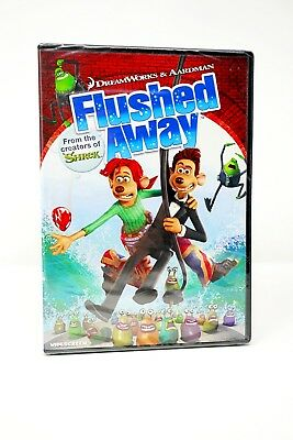 FLUSHED AWAY DVD Widescreen With Slipcover New and Sealed ...