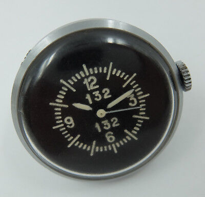 1 Mchz «button» USSR Soviet Air Force aircraft gun camera clock watch 132
