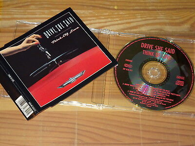 Drive She Said - Think Of Love / Maxi-Cd 1991 Mint-
