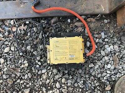 OEM Ford Think Plug And Play Delta Q Battery Charger Tested Working NEV 72 Volt
