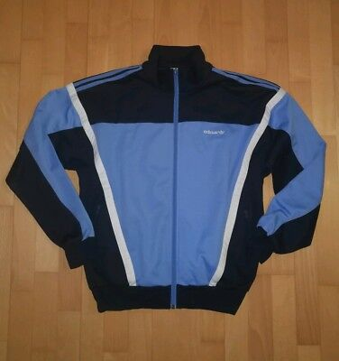 ADIDAS TRAININGSJACKE GR. ML vintage retro oldschool jacke