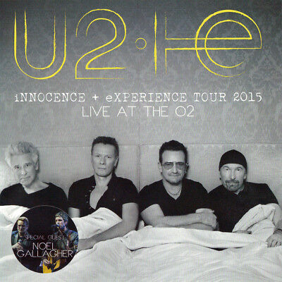 U2 LIVE AT THE O2 2015 with NOEL GALLAGHER 2CD
