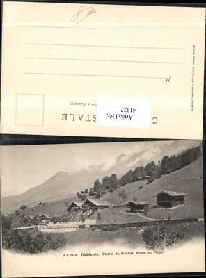 41927,Diablerets Chalet du Rocher Route du Pillon Kt Wallis