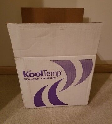 """8 CoolTemp Insulated Shipping Boxes, L-12"""" X H-10.75"""" X W-10"""""""