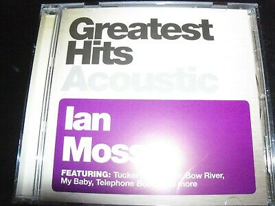 Ian Moss - Greatest Hits Acoustic CD – New (Not Sealed)
