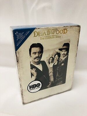 Deadwood The Complete Series (Blu-ray,2013,13-Disc Set,Season 1 2 3)NEW