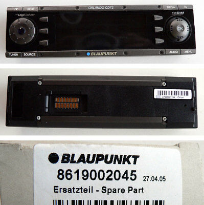 Original Blaupunkt 8619002045 Car Radio ORLANDO CD72 Bedienteil - NEU