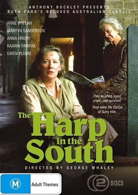Harp In The South (DVD, 2009, 2-Disc Set) Region 4 Used Like NEW with Free Post