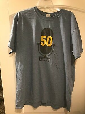 Kansas City Royals T Shirt 2018 SGA 50th Anniversary Denny Matthews XL New  SGA 1aaf2c703965