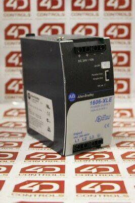 Allen Bradley 1606-XLE240E-3 Power Supply 24-28VDC 240W - Used - Series A