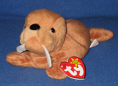 588175068dd TY BEANIE BABY - TUSK the WALRUS - MINT with TAG - SEE PICS -  3.95 ...