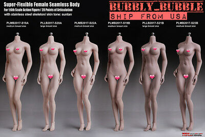 ☆USA EXPEDITED SHIPPING☆ TBLeague PHICEN 1/6 scale Female SEAMLESS Figure Body
