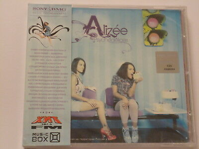 Alizee - Psychedelices (2007) Brand New, Sealed, OBI, Russian Edition