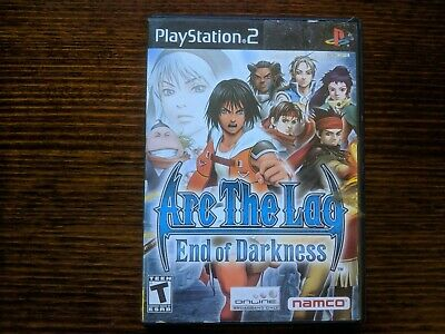 Arc The Lad End Of Darkness (Sony Playstation 2, PS2) Complete NTSC RPG