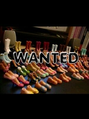 WANTED - BRATZ SHOES & ACCESSORIES (do not purchase this listing)