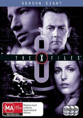 The X-Files : Season 8 (DVD, 6-Disc Set) NEW