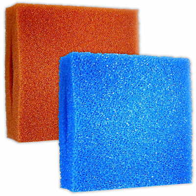 Oase Biotec Filter Foam 5 10 30 Fine Coarse Blue Red Fish Pond Sponge Block