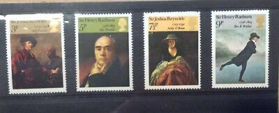 GB 1973 Artistic Anniversaries British Painters SG931-934 MNH Great Condition