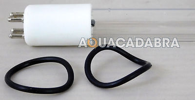 Laguna 23W UVC Bulb Pressure Flo PF 12000 4 Pin UV Lamp Tube Fish Garden Pond