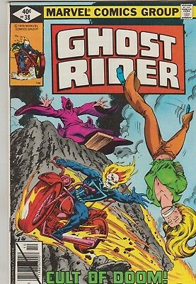 *** Marvel Comics Ghost Rider #38 F+ ***