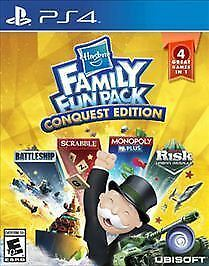 Hasbro Family Fun Pack Conquest Edition PS4 New PlayStation 4, PlayStation 4
