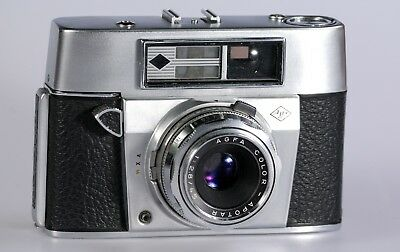 Agfa Super Silette (1960) with a coupled rangefinder, Agfa Color-Apotar 45mm f/2