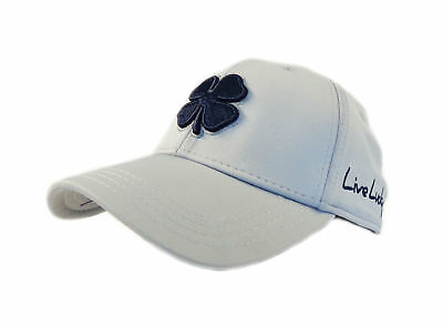 07d147d9e22 NEW BLACK CLOVER Live Lucky BC Style  90 Grey Navy Fitted S M Hat ...