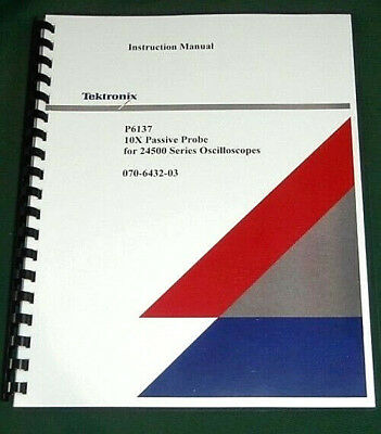 Tektronix P6137 Instruction Manual: Comb Bound & Protective Covers