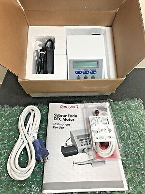 Brand NEW Sybron Endo DTC Motor System Ref: 815-9151 Dental Endodontic Unit 110v