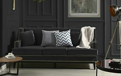 FURNITURE OF AMERICA Zilly Modern Victorian Sofa in Gray ...