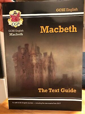 Grade 9-1 GCSE English Shakespeare Text Guide - Macbeth (CGP Revision)... As New