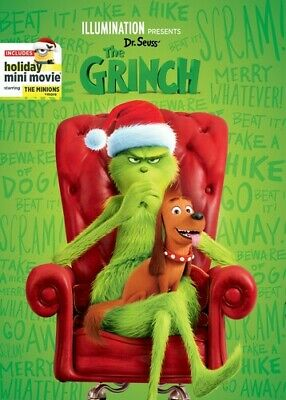Illumination Presents: Dr. Seuss' The Grinch [New DVD]