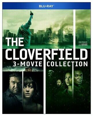 Cloverfield 3-movie Collection [New Blu-ray] 3 Pack, Ac-3/Dolby Digital, Amara